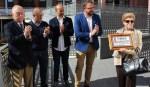 El Ayuntamiento de Mérida homenajea a Emilio Olivas por su defensa del patrimonio monumental de la ciudad