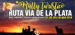 El I Rally turístico Ruta Vía de la Plata llega a Mérida con un centenar de participantes