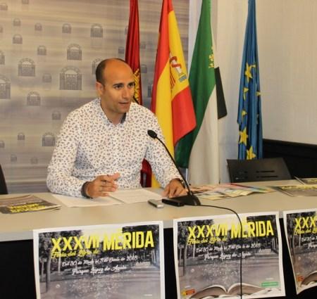 La Feria del Libro de Mérida se celebrará del 30 de mayo al 3 de junio en el Parque López de Ayala