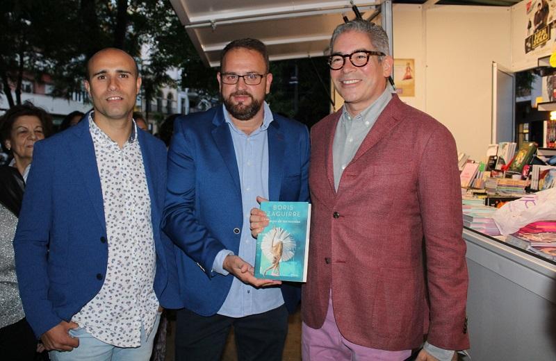 El escritor Boris Izaguirre inauguró la XXXVII Feria del Libro de Mérida