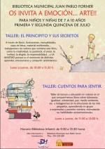 Abierto el plazo de inscripción para los talleres de animación a la lectura en las Bibliotecas Municipales de Mérida
