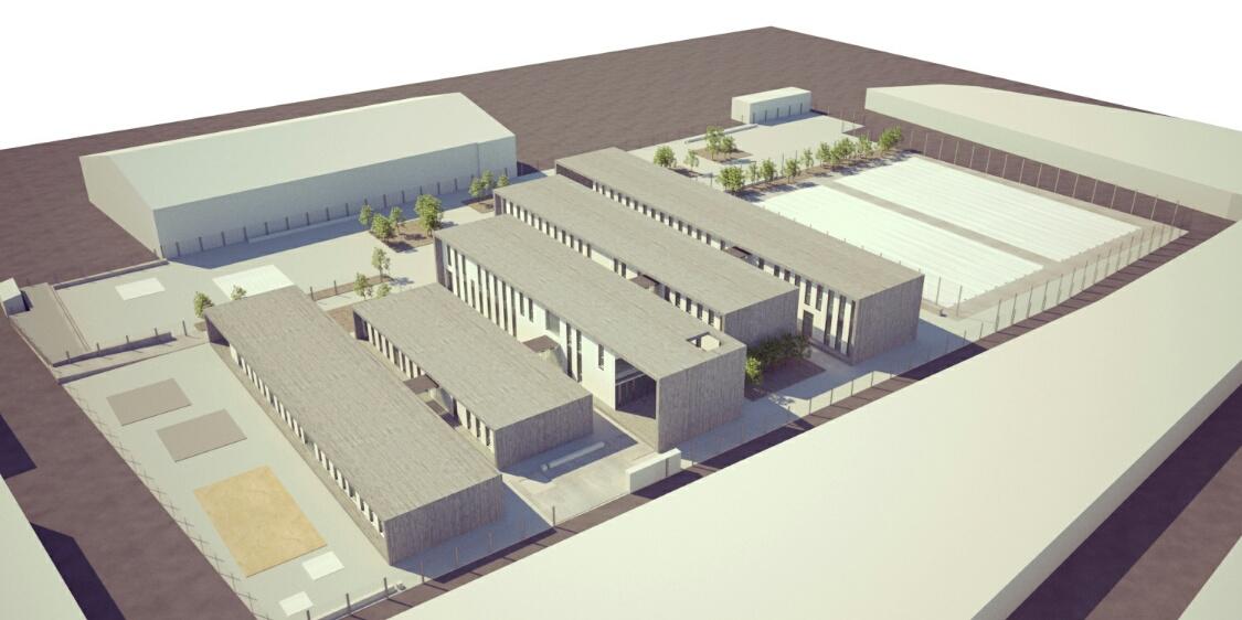 La Junta formaliza el contrato para la construcción del nuevo CEIP de La Zarza