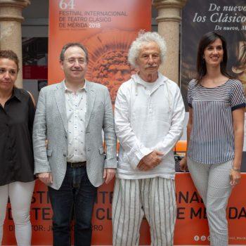 Rafael Álvarez 'El Brujo' vuelve al Festival de Mérida con 'Esquilo', una comedia sobre la tragedia griega