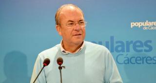 Monago pide a Vara que llame a Sánchez y le exija defender lo acordado con Portugal en materia de AVE
