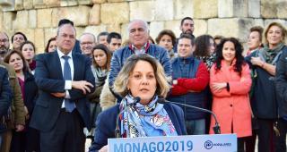 Pilar Nogales, candidata del Partido Popular para ser la primera alcaldesa de Mérida