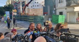 Las obras del María Luisa se reanudan con la construcción del futuro sótano del teatro que albergará sala de ensayo y camerinos