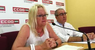 CCOO de Extremadura apela a la unidad de toda la sociedad para salir lo antes posible de la crisis sanitaria para contrarrestar sus duros efectos en el empleo