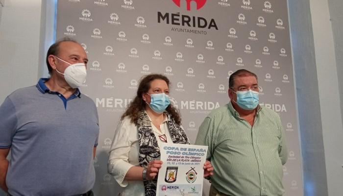 """Mérida será este fin de semana """"referencia nacional"""" del Tiro Olímpico con la celebración de la Copa de España"""