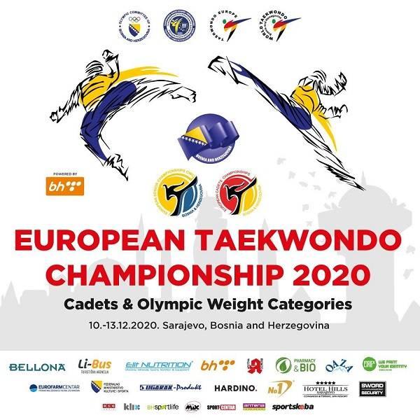 prvenstvo, Posljednji dan prijava za Evropsko prvenstvo u taekvondou za seniore i kadete