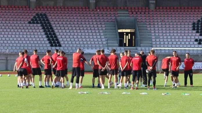 Žižović, Žižović izvršio prozivku, 27 igrača se javilo uključujući novajlije
