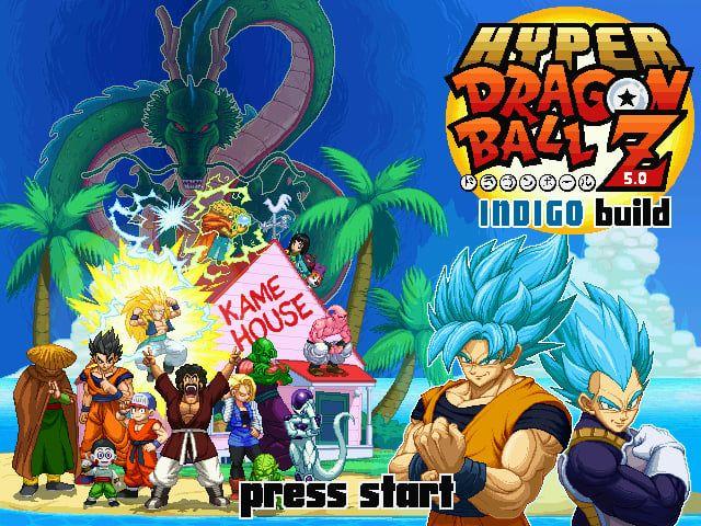 Hyper Dragon Ball Z Indigo