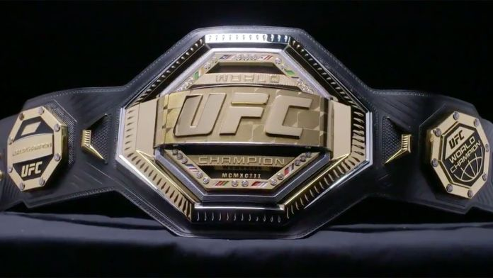 UFC šampionski pojas.