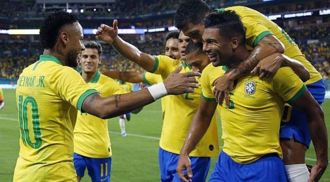 Brasil, BRASIL ANUNCIA SU LISTA DE CONVOCADOS