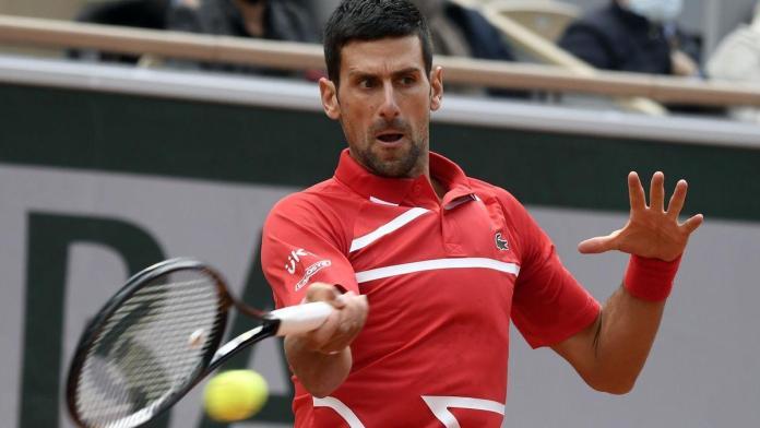 Novak Djokovic, NOVAK DJOKOVIC SIN CONTRA TIEMPOS EN FRANCIA