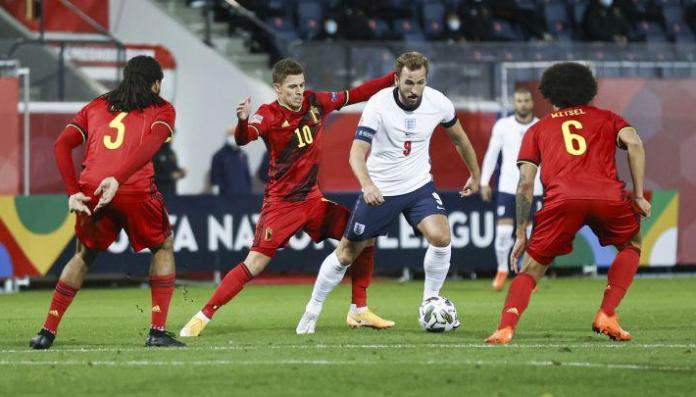 Bélgica, EL EQUIPO DE BÉLGICA DERROTÓ FÁCIL A UNA IRRECONOCIBLE INGLATERRA POR 2-0