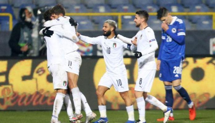 Italia, ITALIA LE GANÓ 2-0 A BOSNIA Y SE CLASIFICÓ AL FINAL FOUR