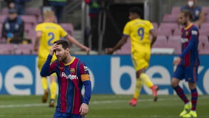Barcelona, EL BARCELONA VUELVE A PINCHAR EN LA LIGA