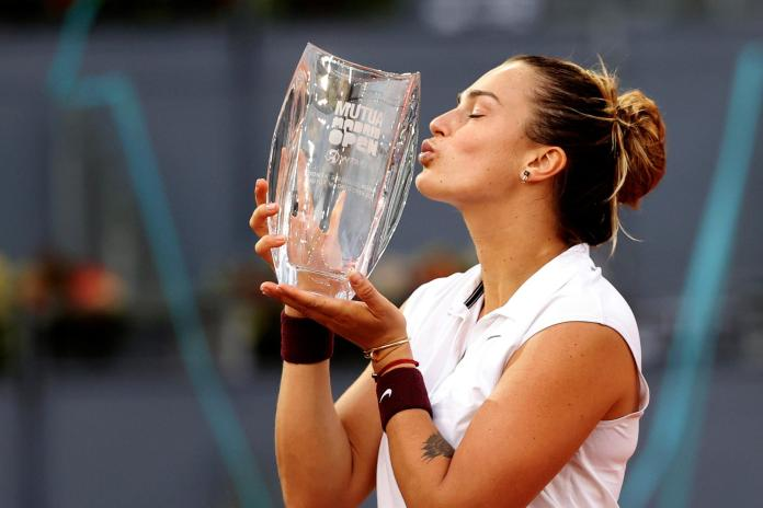 Sabalenka WTA Madrid, SABALENKA TRIUNFA EN EL WTA DE MADRID