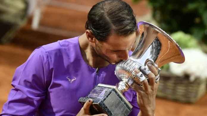 Rafael Nadal Masters Roma, RAFAEL NADAL, EL REY DEL MASTERS DE ROMA