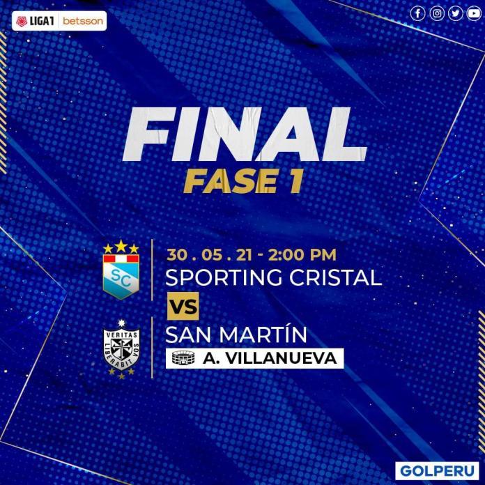 Final Liga 1, YA HAY FECHA PARA LA GRAN FINAL DE LA LIGA 1