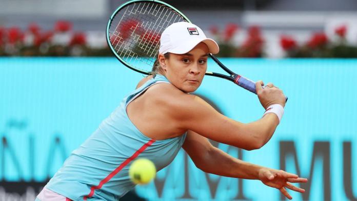 Barty WTA Madrid, BARTY A CUARTOS DEL WTA 1000 DE MADRID