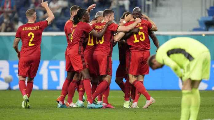 Bélgica Rusia, BÉLGICA GOLEÓ A RUSIA POR 3-0 EN LA EURO