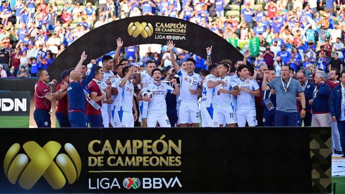 Cruz Azul campeón, CRUZ AZUL, CAMPEÓN DE CAMPEONES