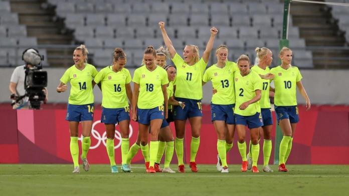 Suecia Estados Unidos, SUECIA SORPRENDE A ESTADOS UNIDOS