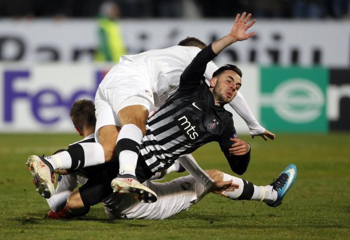 Igrači Partizana prokockali svoje šanse