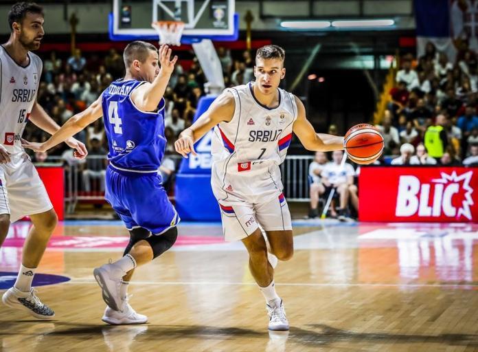 Srbija ubedljiva protiv Estonije za lakši put do Mundobasketa