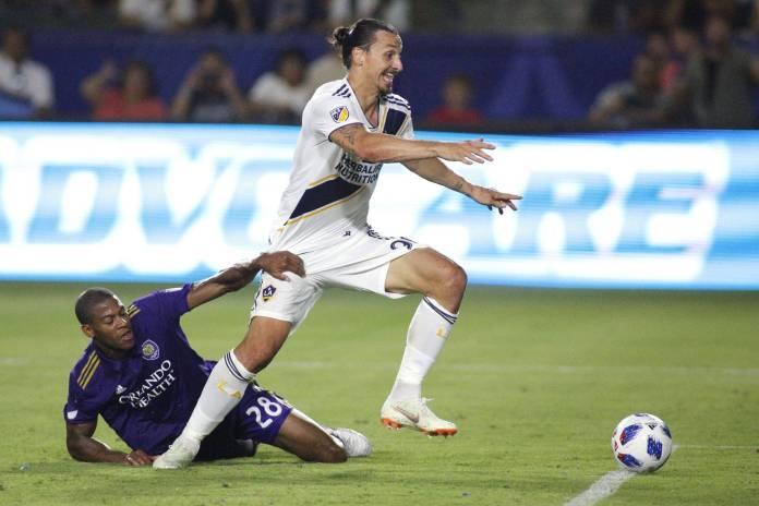 MLS subotom Orlando Zlatan