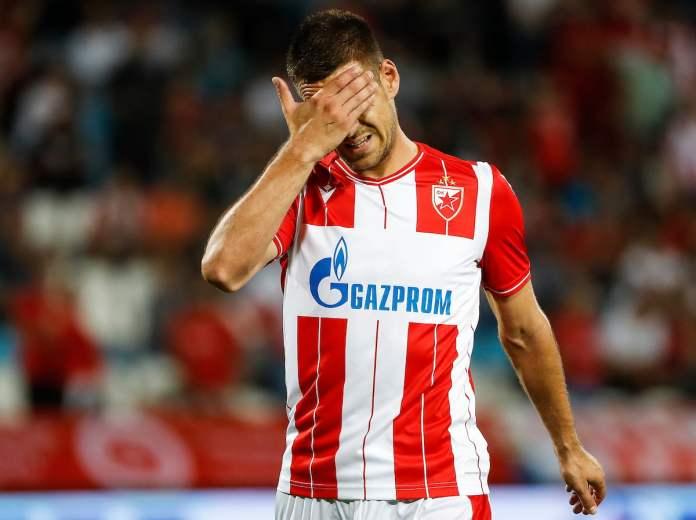 crvena zvezda-marko gobeljić-promašaj-kritike-đurovski-borjan