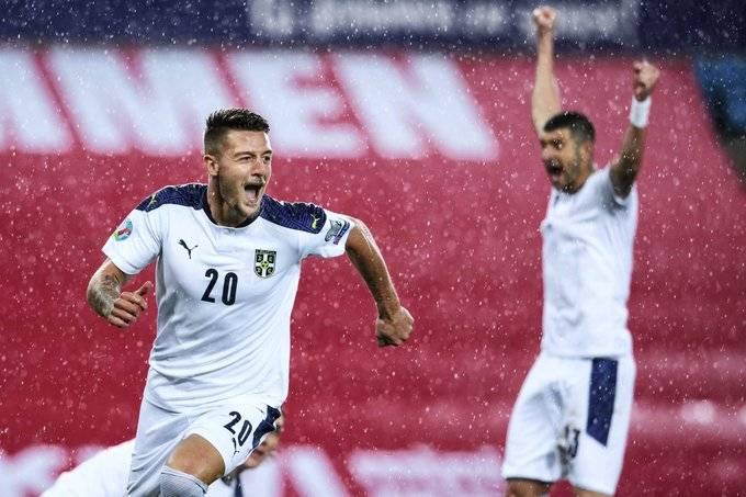 sergej milinković-savić-srbija-norveška-evropsko prvenstvo
