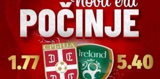 fudbalska reprezentacija srbije-republika irska-kvalifikacije-svetsko prvenstvo-meridian-bonusi