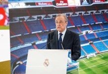 florentino perez-superliga-erling haland-real madrid-intervju
