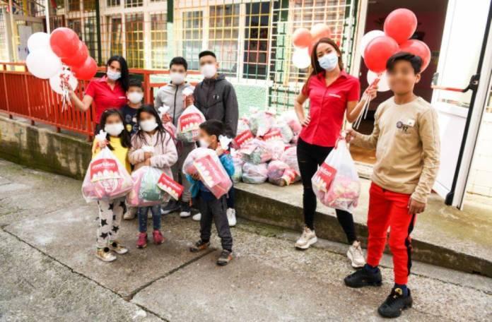 Meridian zasladio uskršnje praznike u Svratištu za decu ulice