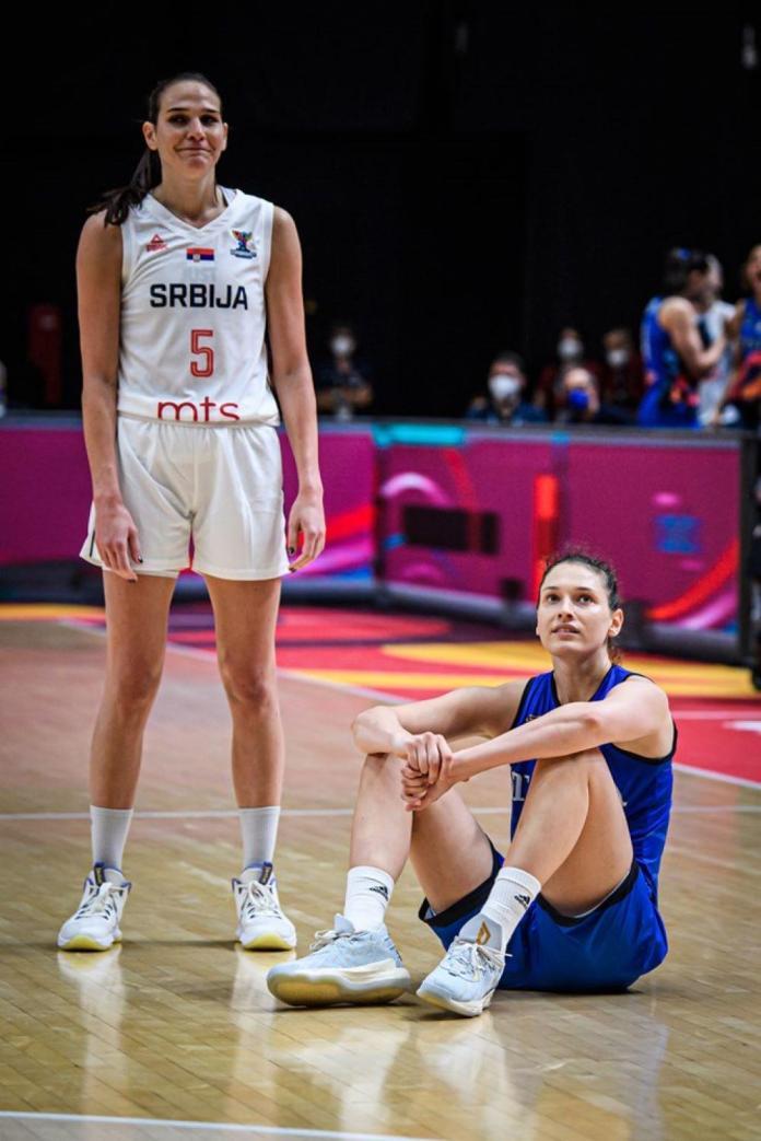 sonja vasić petrović-srbija-italija-evropsko prvenstvo