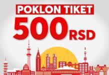 meridian-poklon tiket-500 dinara-bonus-klađenje