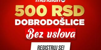 meridian-bonus dobroošlice-500 RSD