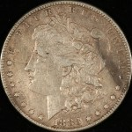 Obverse image of Pre-1921 Morgan Dollar