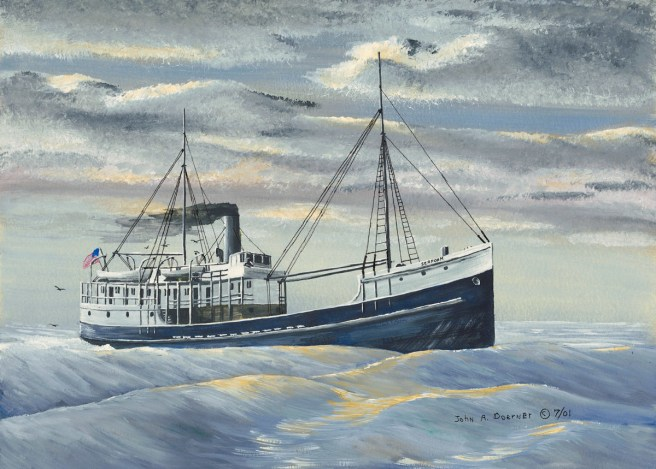 John A. Doerner – Sea Foam. Built at Aberdeen, Washington in 1904 by John Lindstrom, the Sea Foam wrecked at Point Arena on February 23, 1931.