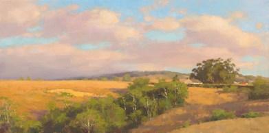 Jim McVicker, Summer Glow, 18x36, oil on linen.