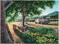 Alan Sanborn, watercolor, 2007.