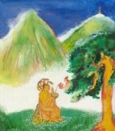 Nagarjun blessing Nagarjuna