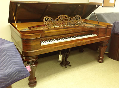 Meridian Piano Movers - AB Gale - Fire Restoration