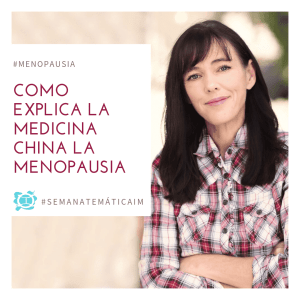 Medicina china y menopausia