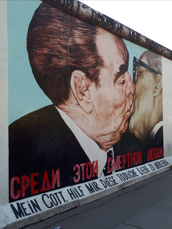 BACIO - Muro di Berlino