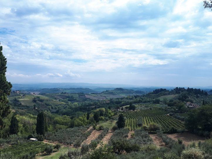 Panorama San Gimignano - 3