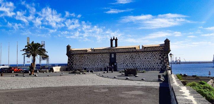 arrecife -castillo de san jones
