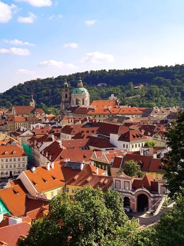 tetti di Praga